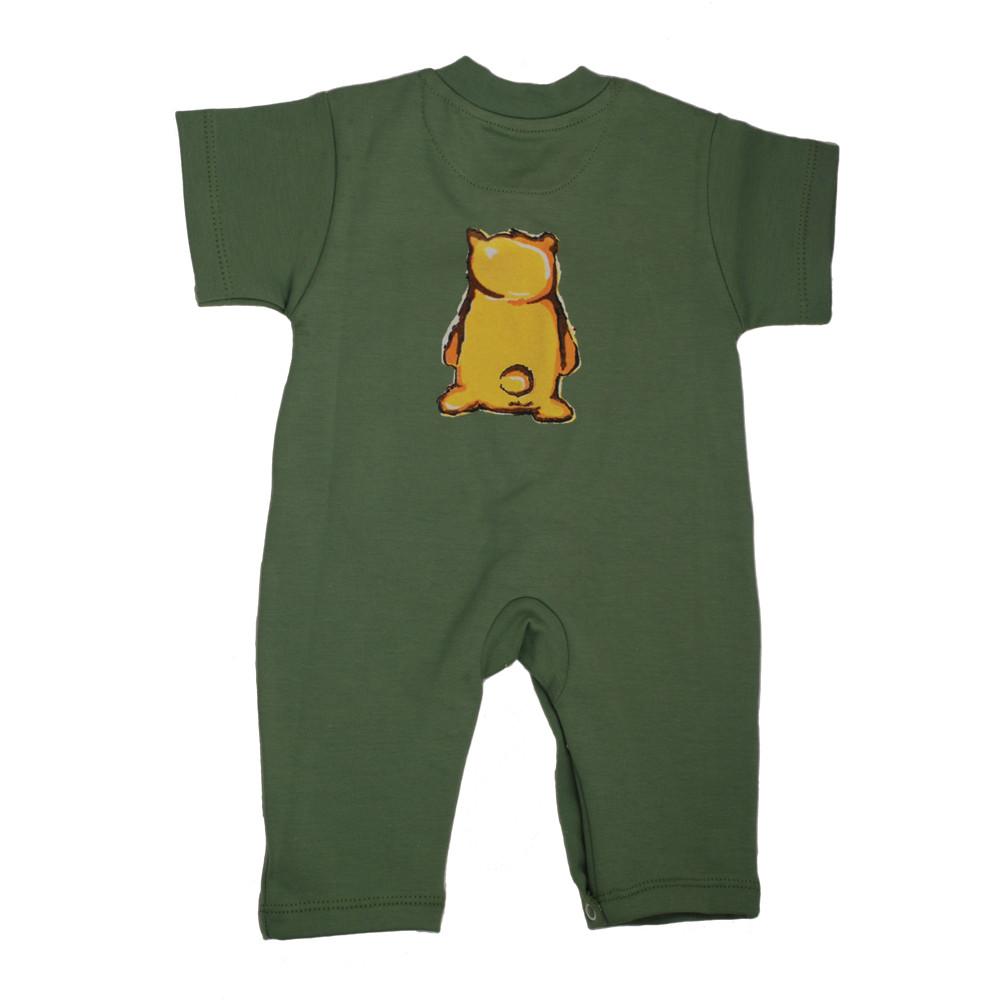 سرهمی کوتاه خرس پسرانه شابن