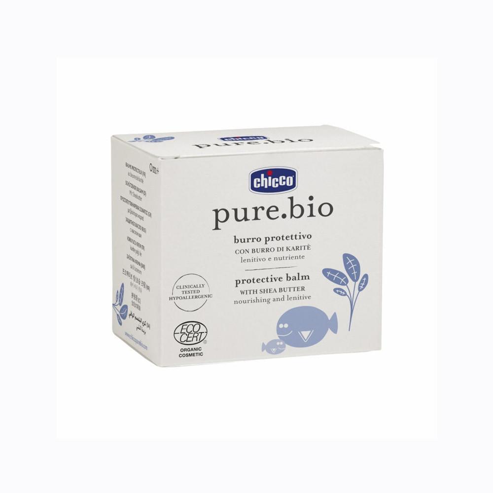 بالم محافظت کننده و مغذی پوست کودک chicco Pure Bio چیکو 75 میلی لیتر