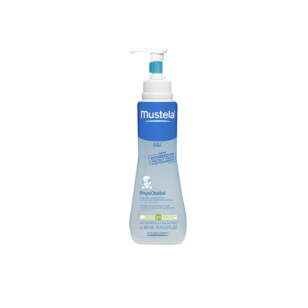محلول پاک کننده mustela موستلا 300 میلی لیتر (PhysiObebe)