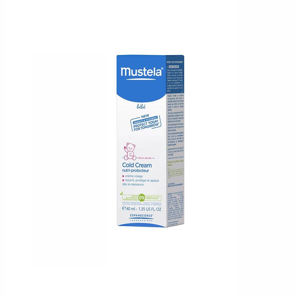 کرم محافظ و تغذیه کننده پوست (Mustela (Cold Cream Nutriprotector موستلا 40 میلی لیتر