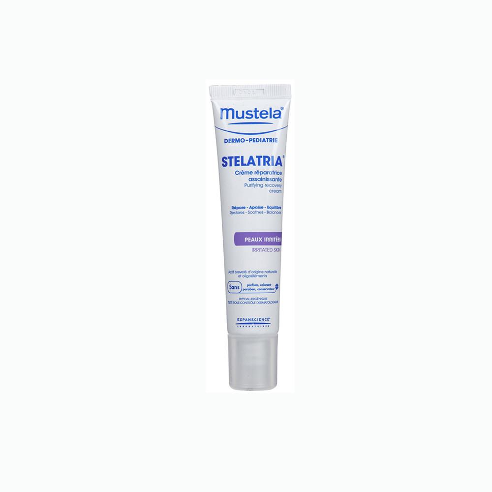 کرم درمان کننده و بازسازی کننده پوست های آسیب دیده mustela موستلا 40 میلی لیتر