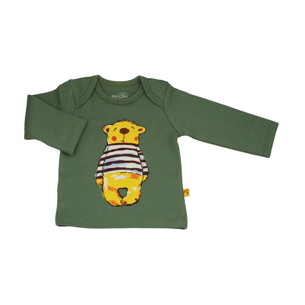 آستین بلند خرس پسرانه شابن (لباس زیر )