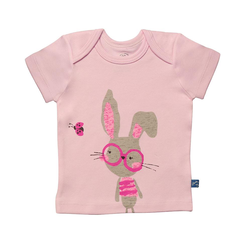آستین کوتاه خرگوش عینکی شابن