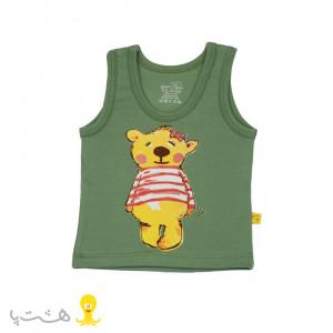 رکابی خرس دخترانه شابن