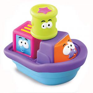 اسباب بازی حمام بلوباکس Blue Box مدل قایق