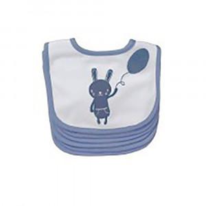 پیشبند پلی گرو playgro طرح خرگوش سرمه ای (6 عددی)