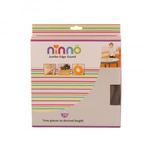 محافظ لبه جامبو کودک نینو ninno - کوچک قهوه ای