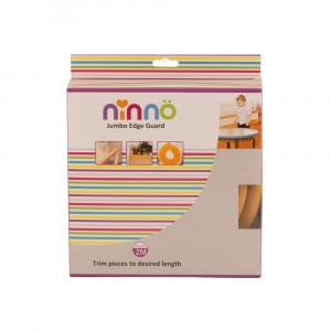 محافظ لبه جامبو کودک نینو ninno - کوچک قهوه ای روشن
