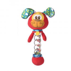 سگ جغجغهای playgro پلی گرو - با توپ رنگی