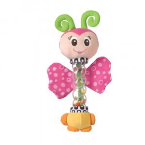 پروانه جغجغهای playgro پلی گرو - با توپ رنگی