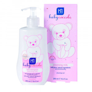 شیر پاک کن و لوسیون (تمیزکننده بدن) بی بی کوکول Baby Coccole