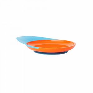 بشقاب کودک بون boon (رنگ آبی - نارنجی)