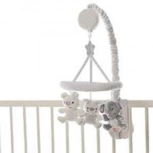 آويز تخت موزيکال پلی گرو playgro (رنگ سفید)