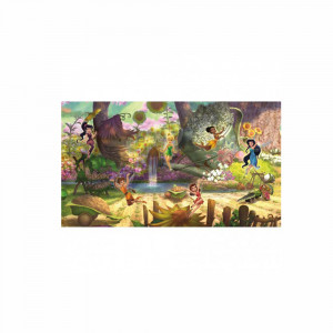 کاغذ دیواری اتاق کودک روم میتس roommates طرح Disney Fairies Pixie Hollow