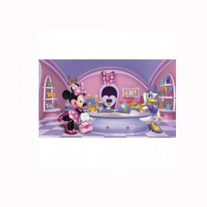 کاغذ دیواری اتاق کودک روم میتس roommates طرح Minnie Fashionista