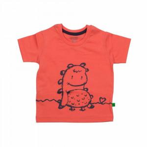 تی شرت آستین کوتاه دینگو گلبهی شابن (لباس بیرونی)