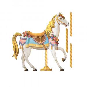 استیکر دیواری اتاق کودک روم میتس roommates طرح Carousel Horse