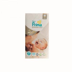 پوشک پمپرز پریما ضد حساسیت لهستانی Pampers premium care سایز 2