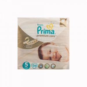 پوشک پمپرز پریما ضد حساسیت لهستانی Pampers premium care سایز 5