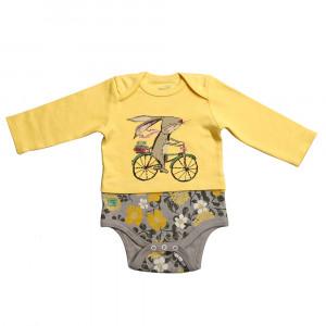 آستین بلند زیر دکمه دار دوچرخه شابن