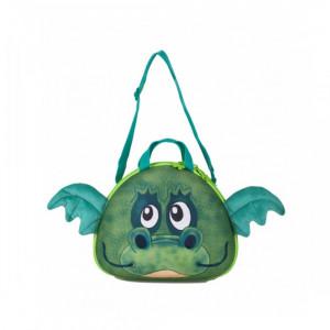 کیف دستی کودک اوکی داگ مدل اژدها سبز OKIEDOG (کیف لوازم نوزاد و کودک)