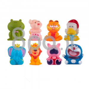 پوپت حیوانات (8 عددی) کنزا kenza (اسباب بازی)