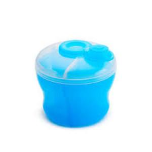ظرف نگهدارنده و غذا خوری مجزا (آبی) مانچکین munchkin (ظروف غذاخوری )