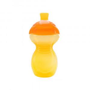 لیوان آبمیوه خوری 266 میلی (زرد) مانچکین munchkin (ظروف غذاخوری )