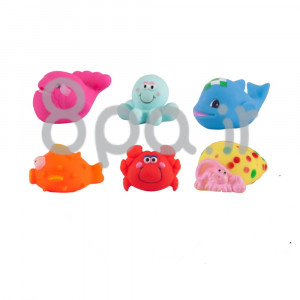 پوپت حیوانات (6 عددی) کنزا kenza (اسباب بازی)