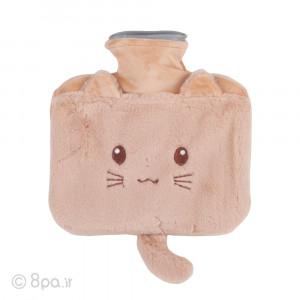 کیسه آب گرم پولیشی مدل گربه دم دار