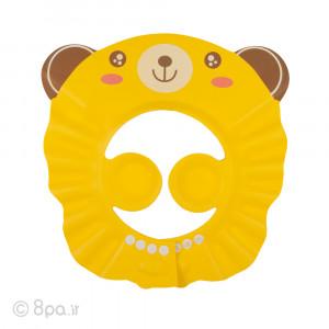 کلاه حمام کودک - خرس زرد