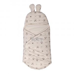 قنداق طرح جنگل سفید bebitof (لوازم خواب کودک)