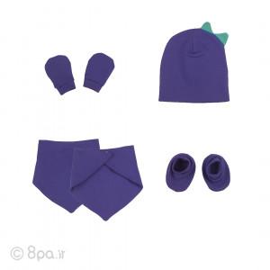 ست 5 تکه کلاه (دو عدد)، پیشبند، دستکش و پاپوش بوبو شابن