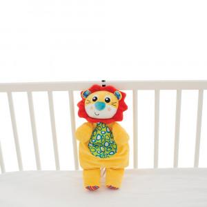 عروسک موزيکال شير مناسب برای کنار تخت پلی گرو playgro