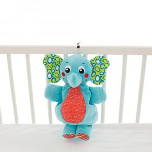 عروسک موزيکال فيل مناسب برای کنار تخت پلی گرو playgro