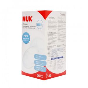 پد سینه ناک Nuk (تولید آلمان) - 36 عددی