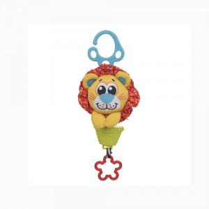 عروسک گیره دار موزیکال شیر پلی گرو Playgro