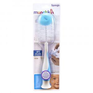 شیشه شور مانچکین (آبی)munchkin (شیشه شیر و لوازم جانبی)