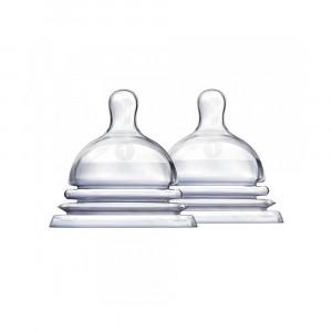 سرشیشه munchkin مانچکین مناسب +0 ماه (2عددی) (شیشه شیر و لوازم جانبی)