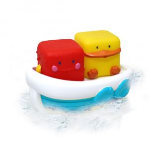 پوپت حمام بلوباکس Blue Box مدل قایق شناور