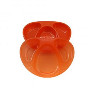 بشقاب تامی تیپی tommee tippee رنگ نارنجی (2 عددی) (ظروف غذاخوری )