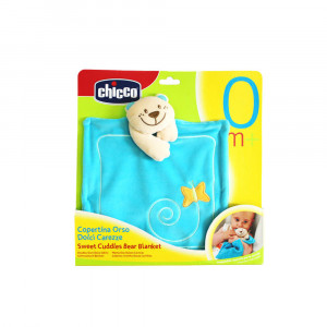 دستمال دندانگیر پولیشی خرس چیکو Chicco
