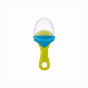 میوه خوری سیلیکونی بون boon (رنگ آبی - سبز)