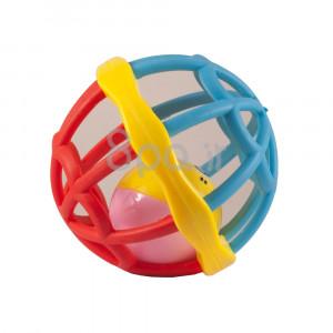 جغجغه مدل توپ (آبی-قرمز) (اسباب بازی)
