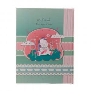 آلبوم خاطرات کودک طرح اسب شاخ دار (دکور و تزیینات)