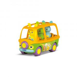اسباب بازی آموزشی تامی tomy اتوبوس حیوانات آوازخوان