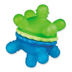 دندانگیر توپی مانچکین munchkin (رنگ سبز و آبی)