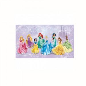 کاغذ دیواری اتاق کودک روم میتس roommates طرح Disney Princess Royal Debut