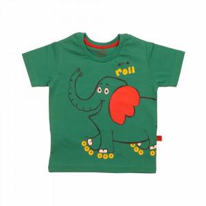 تی شرت آستین کوتاه اسکیت باز سبز شابن (لباس بیرونی)