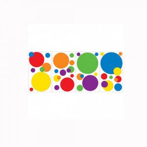 استیکر دیواری اتاق کودک روم میتس roommates طرح Just Dots Primary